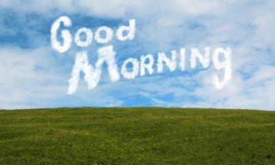Empezar bien el día es cuestión de actitud.