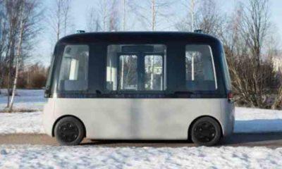 Gacha, el autobús autónomo de Muji.