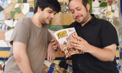 Vicente Perpiñá y Carlos Mercé, creadores de 'Plaça del Mercat', una revista de historietas