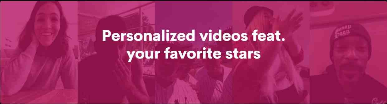 Qué es Cameo, la app para comprar vídeos personalizados de famosos