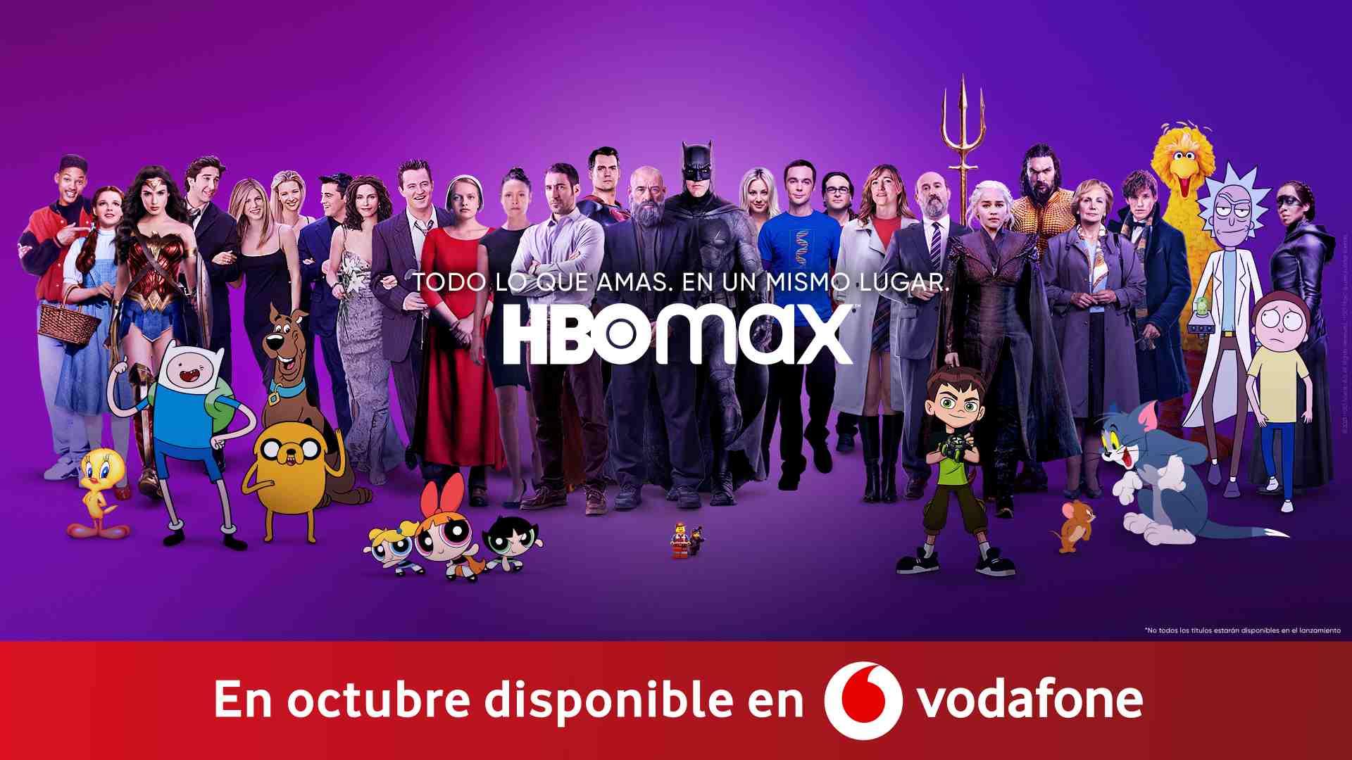 Te contamos cómo ver HBO Max gratis en Vodafone